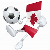 Постер, плакат: Флаг футбол