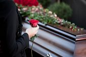 stock photo of cemetery  - Religion - JPG