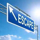 Escape Concept.