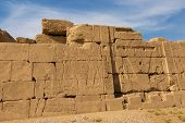 Ancient Ruins Of The Karnak Temple In Luxor (thebes), Egypt. The Largest Temple Complex Of Antiquity poster