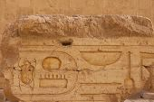 Temple Of Queen Hatshepsut, View Of The Temple In The Rock In Egypt poster