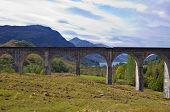 Glenfinnan Aqueduct At Loch Shiel