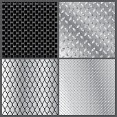 Grey Metal Textures