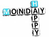 3D Happy Monday Crossword