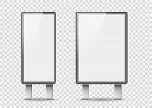Set Of Light Boxes Template. Outdoor 3d Retail Lighting Billboards. Advertising Promotion, Signboard poster