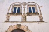 Palacio del seminario. Ostuni. Puglia. Italia.