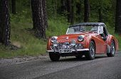 Triumph TR3 A from 1961