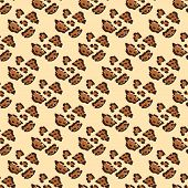 Modern Abstract Seamless Pattern With Leopard Print. Modern Leopard Seamless Pattern. Animal Skin. V poster