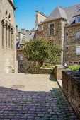 On The Streets Of Saint-malo, France. A City And Port In Northwestern France, Located In The Brittan poster
