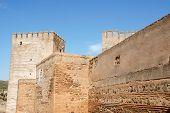 The Alcazaba In Granada, Spain