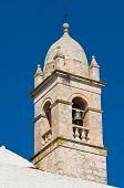 Church of St. Lucia. Alberobello. Puglia. Italy.