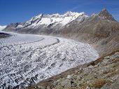 Aletsch Glacier Curve