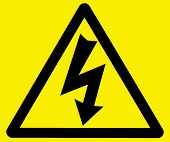 Danger Of Electrocution Warning Sign