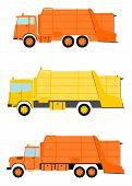 Garbage Truck Set.