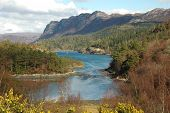 stock photo of carron  - Plockton and Loch Carron - JPG