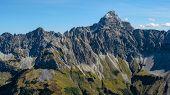 Impressive Alpine Peak Close To Oberstdorf