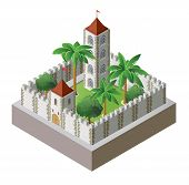 isometric fortress