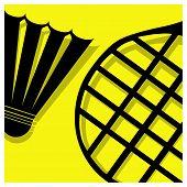 Badminton Pictogram