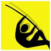 Pole Vault Pictogram