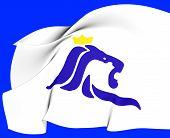 Vlag van de stad Luxemburg