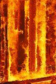 Fuego quema