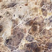 stock photo of slab  - Dark Marble Granite Stone slab surface - JPG