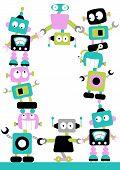 Fun Robots Border