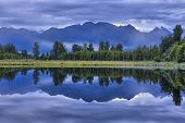 Lake Matheson Mirror