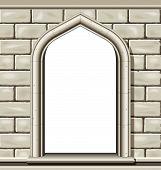 Arch Window, Stone