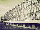 Постер, плакат: Vintage Sepia Modern Architecture