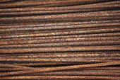Rusty Iron Rods