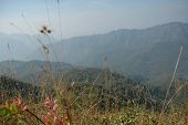 Beautiful Mountain Valley in Mae Hong Son