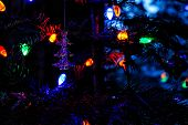 Holiday Lights and Ornament
