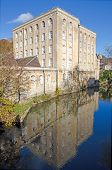 image of avon  - Victorian Era Warehouse on the River Avon - JPG