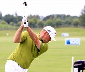 Thomas Bjorn at the Golf French Open 2013