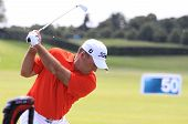 Thomas Levet at the Golf French Open 2013
