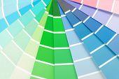 color chart guide sampler