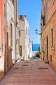 Alleyway. Castro. Puglia. Italy.