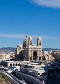 Постер, плакат: Marseilles Cathedral xix C