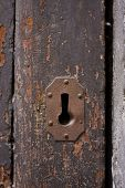 Keyhole Of Old Doorlock 8