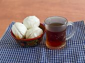 A Cup Of Tea With Marshmallows