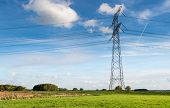 Electricity Pylon In The Field