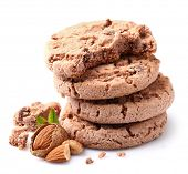 Cookie with almonds