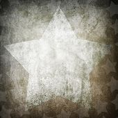 vintage paper with star pattern