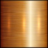 foto of alloys  - Vector abstract brushed copper metal texture background - JPG