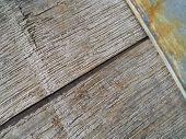 Close Up Old Wood Barrel Diagonal Texture