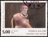 Francis Bacon Stamp