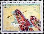 Boats Stamp