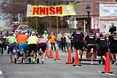 Two Teams Race Beds To Finish Line In Fundraiser Race