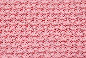 Pink Crochet Background